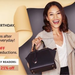 Reebonz: SALEversary Up to 70% OFF + Extra 21% OFF on Luxury Handbags, Accessories & More!
