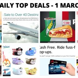 BQ's Daily Top Deals: SQ Exceptional Fares, Cathay Pacific Flash Sale, Ninth Collective Online Warehouse Sale, Redeem Tsum Tsum Huggables, IKEA Food Offers & More!