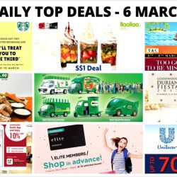 BQ's Daily Top Deals: Unilever Warehouse Sale, Goodwood Park Hotel Durian Fiesta 2017, $1 llaollao Sanum, More Taxi Coupon Codes, Limited Edition MILO Van Collectibles & More!