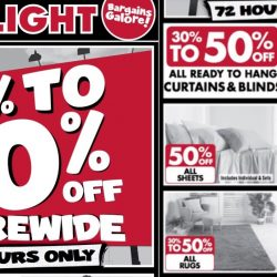 Spotlight: 30% to 50% OFF Storewide Sale for 72 Hours Only!