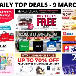 BQ's Daily Top Deals: $1 Bread from Duke Bakery, OTO Clearance Sale, Buy 1 Get 1 FREE at POPULAR, Latest Taxi Coupon Codes, EpiCentre Wagon Sale & More!