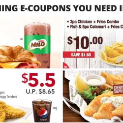 All the Dining E-Coupons in Singapore You Need to Save Now from Burger King, KFC, Delifrance & More! - March/April Version