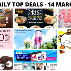 BQ's Daily Top Deals: Sakae Sushi Weekday Buffet, Fish & Co $15 Weekday Dinner, $188 OFF Mobile Phones at Singtel, 1-for-1 Deals & More!
