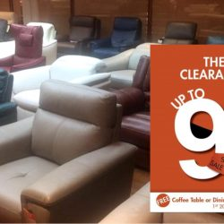 Sofa Outlet: The Sofa Clearance Sale with Up to 90% OFF + Free Coffee Table/Dining Table