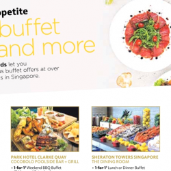 Maybank Cards: 1-for-1 Buffet Deals and More!