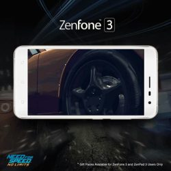 [ASUS] Play Need For Speed No Limits on the ASUS ZenFone 3 with 1920 x 1080 Full HD resolution!
