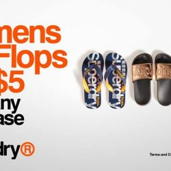 [Superdry] T&Cs: 1 pair of Flip Flops may be purchased per transaction.