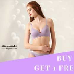 [Pierre Cardin] TGIF Buy any 2 bras from Pierre Cardin's Essentials Collection and get 1 free!