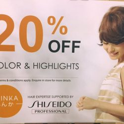 [Shinka] March PROMOTION! Color & Highlights 20% OFF