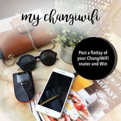 [Changi Recommends] Share your ChangiWiFi experience with us on Instagram.