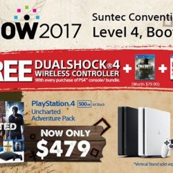 [Sony Singapore] Score a sweet deal for BRAVIA™ or PlayStation® when you head over to Level 4, Booth 8108 at IT Show