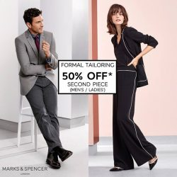 [Marks & Spencer] Office style done right starts with good tailoring.