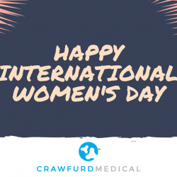 [Crawfurd Medical] Suntec City and Crawfurd Medical are celebrating International Women's Day!