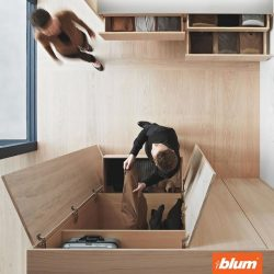 [Blum & Co] Achieve perfect motion in your door furniture - Blum Hinges.