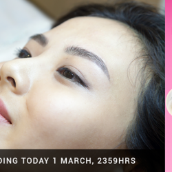 [BROW ART ASIA] Ladies, thank you for your overwhelming response to our promotion.