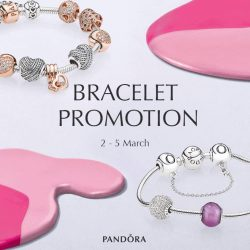 [Pandora Singapore] Bracelet Promotion is now on!