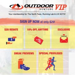 [Running Lab] THE OUTDOOR VENTURE VIP MEMBERSHIP IS HERE!