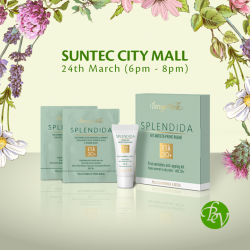 [Bottea Verde] Come by our store in Suntec City Mall this Friday to learn more about our latest range of products.