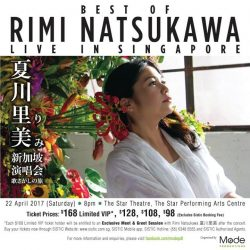 [SISTIC Singapore] Hailing from Okinawa, acclaimed Japanese songbird Rimi Natsukawa will be performing for the first time in Singapore!