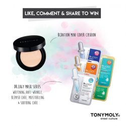 [Tony Moly Singapore] New Launch Giveaway - March!