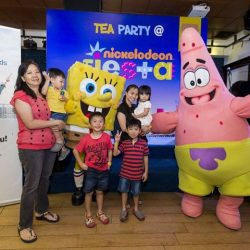 [StarHub] Thanks to all the mummies and daddies who brought their kids for Nickelodeon Fiesta Tea Party!