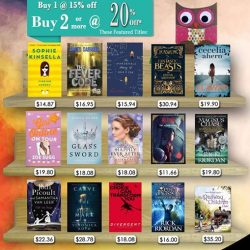 [MPH] MPH Children Bestsellers March PromotionBuy 1 @15% OFF Buy 2 or more @20% OFF*while stocks lasts