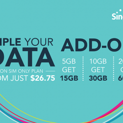 [Singtel] Limited time only – Triple your data on SIM only plan from $26.