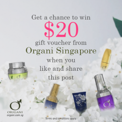 [Organi] Simply LIKE & SHARE this post and get a chance to win $20 voucher!