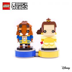[LEGO] Be whisked away into the magical world of an enchanting fairy tale with the new Disney BrickHeadz and get these