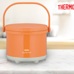 [Thermos] Perfect for busy people who still love to cook their own meals, Thermos® Shuttle Chef® is a thermal cooker that