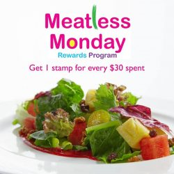 [Sufood] Start the week right by feeding your health with some meatless goodness.