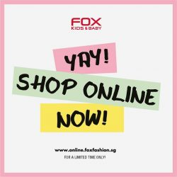 [Fox Fashion Singapore] Our new online pop-up store is up and running!
