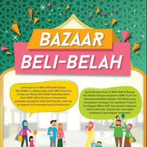[AMP] We are pleased to join Fei Siong Group's Encik Tan Singapore in their upcoming Bazaar Beli-Belah at the