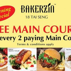 [BAKERZIN] Good news for Bakerzin fans, we are proud to announce that we are opening a new outlet at 18 Tai