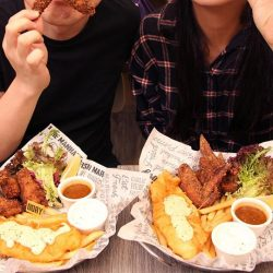 [The Manhattan FISH MARKET Singapore] Your bestie and you are like our Dory 'n Chips x Chicken Wings.