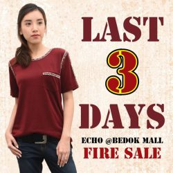 [Echo of Nature] LAST THREE DAYS BEFORE WE SAY GOODBYE TO OUR BEDOK MALL OUTLET!