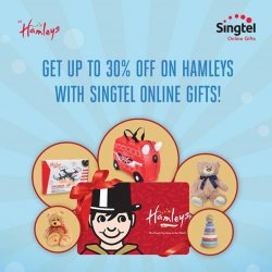 [Singtel] Looking for a new plushie or a cool new toy?