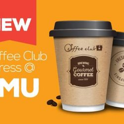 [O' Coffee Club] Our NEW XPRESS store @ SMU opens today!