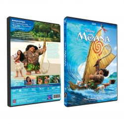 [Poh Kim VCD/DVD] MOANA (DVD) comes 💜, an epic adventure about a spirited teen who sets sail on a daring mission to save her