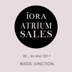 [IORA] Come by to visit our atrium sales now before it ends!
