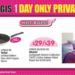 [BHG Singapore] Grab our HOT BUYs at BHG Bugis Private Sale TODAY 11 Mar(Sat) only while stocks last!