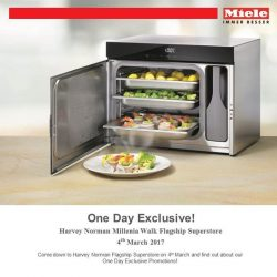 [Harvey Norman] Join Miele and Chef Forest Leong on a delicious journey of wellness, this Saturday, 2pm to 4pm, at HarveyNormanSG Millenia