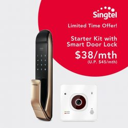 [Singtel] Create a friendly, smarter home.
