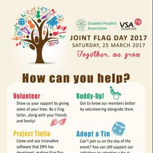 [Disabled People's Association] DPA and VSA's Joint Flag Day aims to raise awareness about our work, promote disability awareness, inspire a spirit