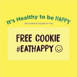 [Cedele] Be EXCITED for Monday as 20 March is International Day of Happiness!