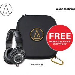 [Stereo] From now till 31 March 2017,  Audio-Technica ATH-M50x will be going at a special price and with every
