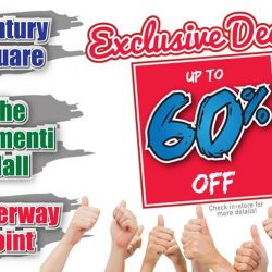 [Best Denki] Enjoy Exclusive Deals up to 60% OFF at Century Square, The Clementi Mall and Waterway Point!