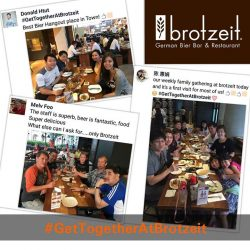 [Brotzeit German Bier Bar and Restaurant] Congratulations to the three winners who just won themselves a $100 Brotzeit Dining Voucher each!