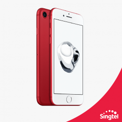 [Singtel] Upgrade to the amazing iPhone 7(PRODUCT)RED Special Edition.