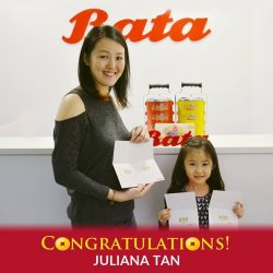 [Bata Shoe Singapore] Congratulations to Juliana Tan once again on being our $200 Special Bata Voucher in our Post-CNY Grand Draw!